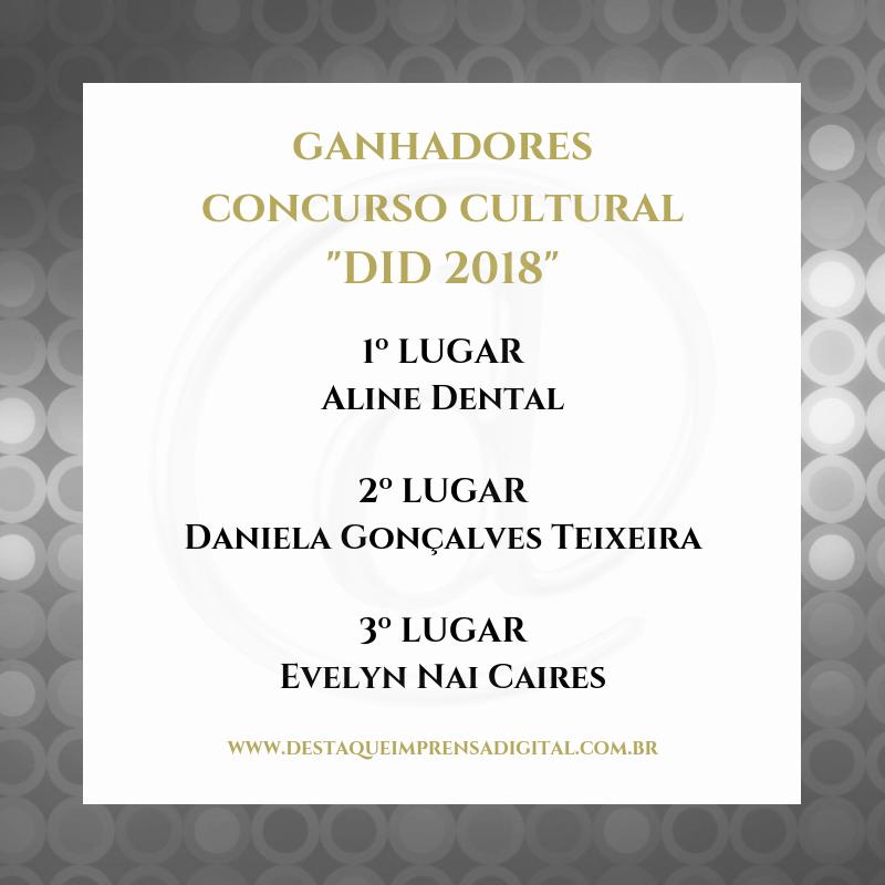DID 2018 - CONCURSO